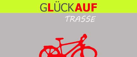 Logo des Vereins Glückauf-Trasse e. V.
